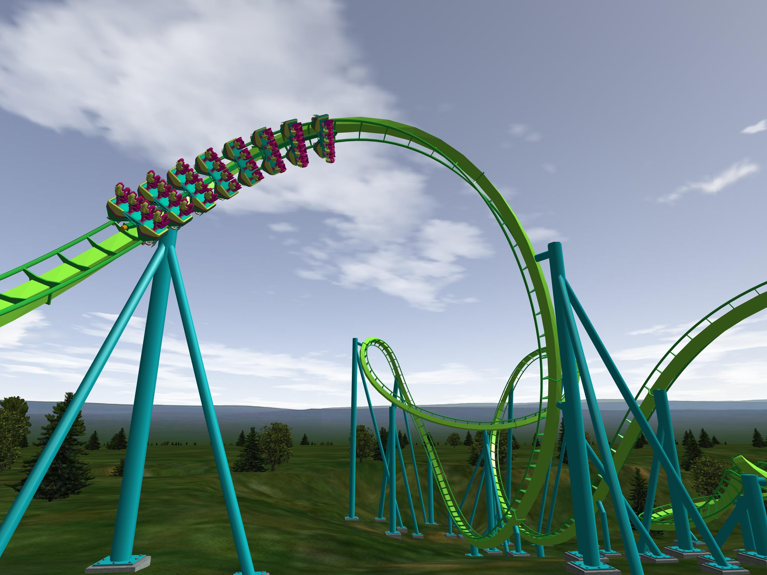 achterbahn simulator download