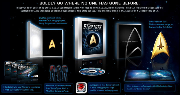 Star Trek Online Inhalt Der Collectors Edition