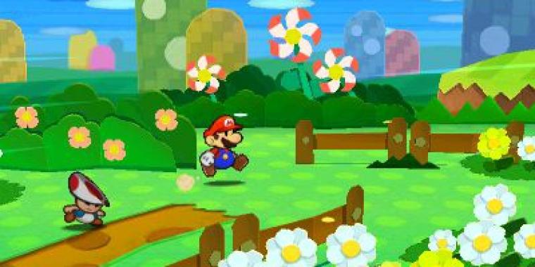 Paper Mario Neues Spiel Für Wii U In Entwicklung