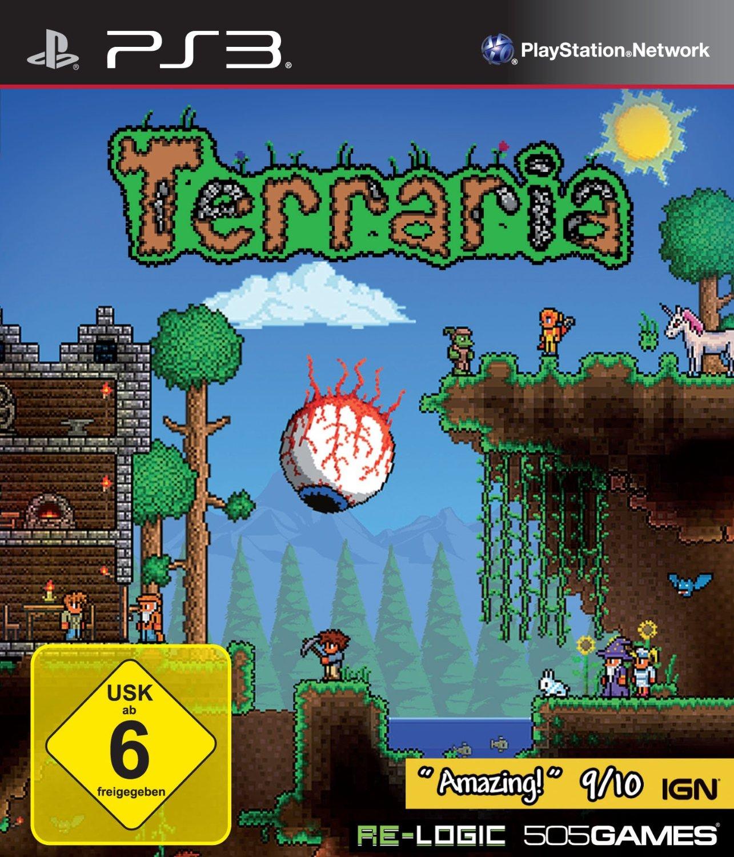 Terraria Test Tipps Videos News Release Termin PCGamesde - Minecraft ps vita spieletipps