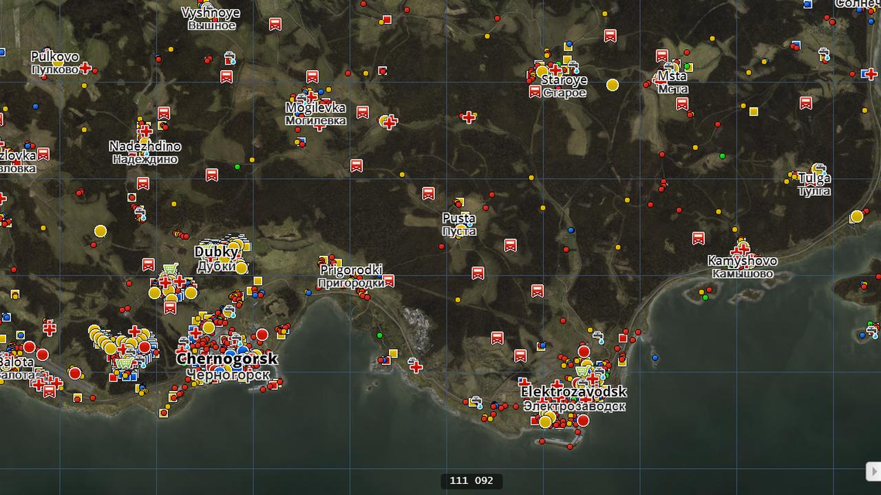 Dayzdb Map
