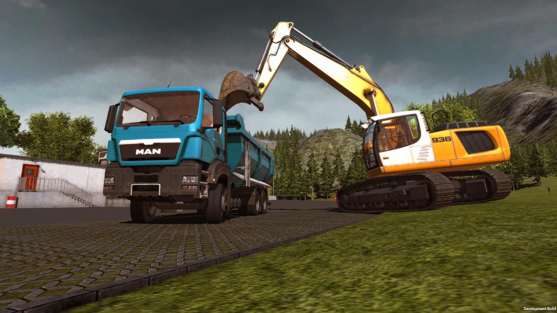 Bau-Simulator 2015: Weiteres Update verfügbar - Lesernews
