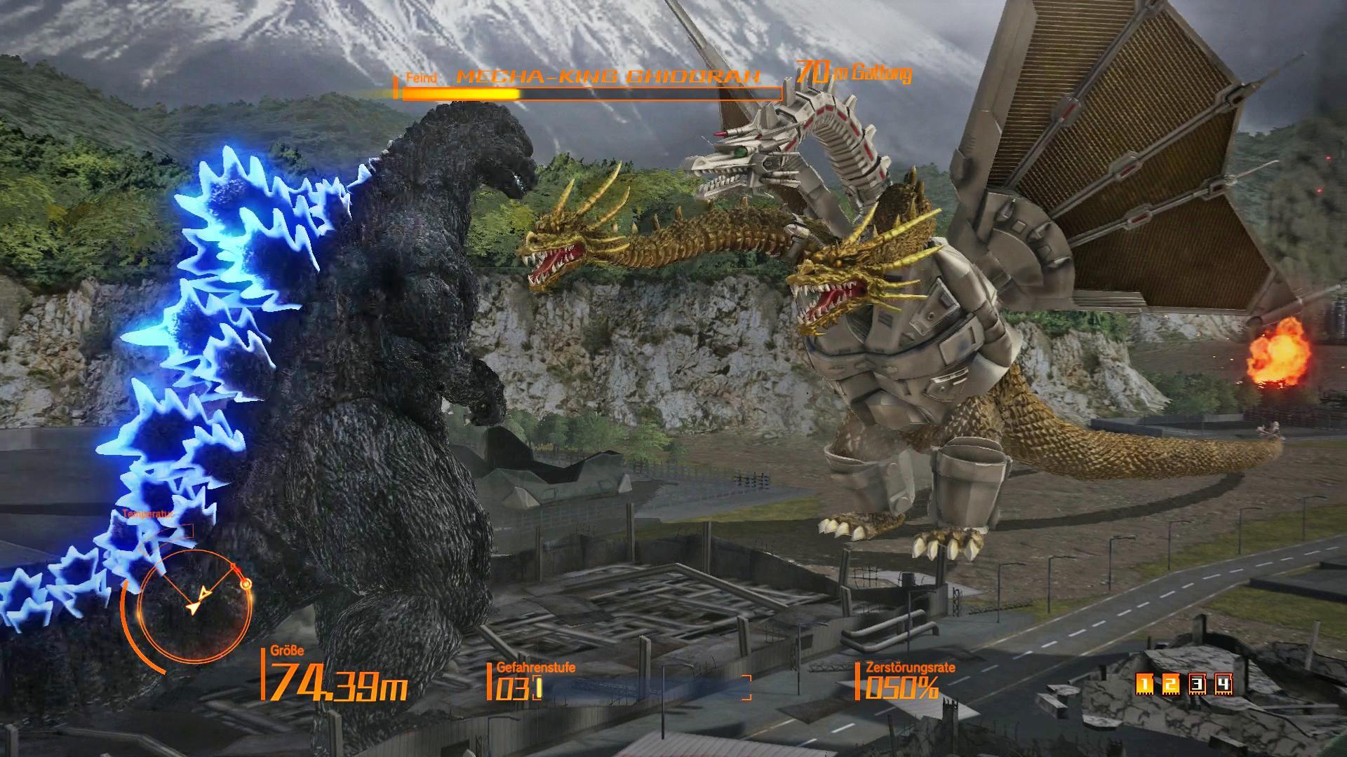Godzilla Spiele