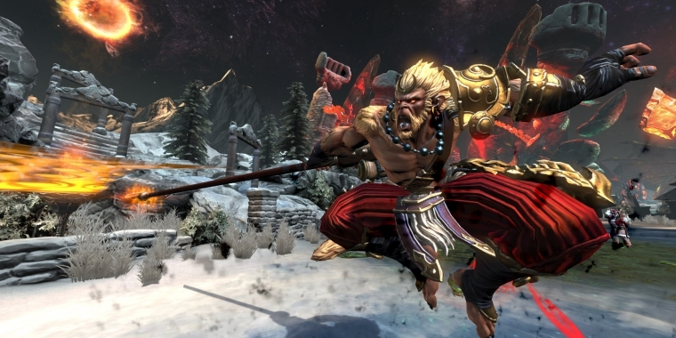 Smite: Battleground of the Gods: Free-2-play Moba für Playstation 4 angekündigt