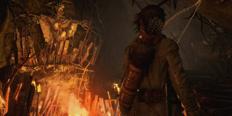 Rise of the Tomb Raider: Baba Yaga: The Temple of the Witch macht eine gute Figur