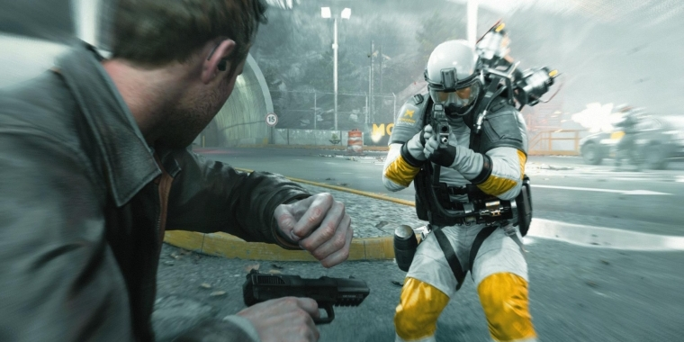 "Quantum Break: Launch-Trailer mit Nirvana-Cover von ""Come As You Are"""