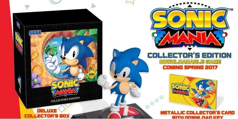 Sonic Mania: Collector's Edition