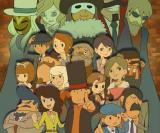 Professor Layton Royale: Level-5 plant Social Network-Game